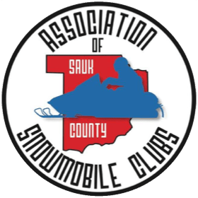 Association of Sauk County Snowmobile Clubs Logo